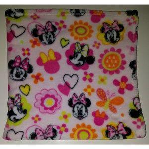 Disney Baby Pink Minnie Mouse Fleece Blanket Lovey